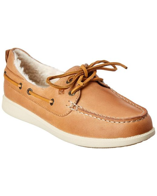 Sperry Top-Sider Brown Oasis Dock Leather Boat Shoe