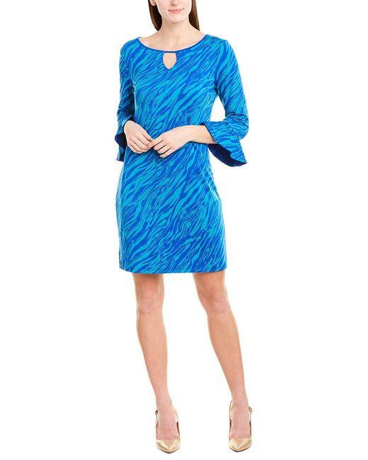 Laundry by Shelli Segal Blue Sheath Dress