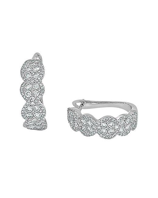 Sabrina Designs Metallic 14k 1.51 Ct. Tw. Diamond Earrings
