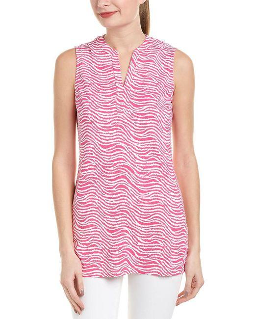J.McLaughlin Pink Catalina Cloth Tunic