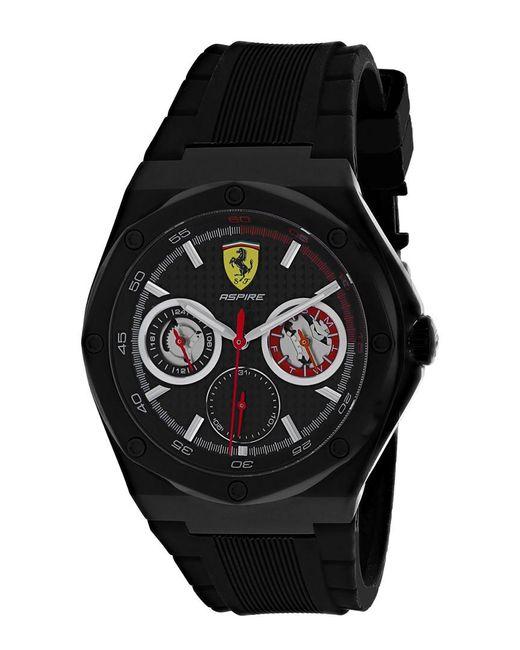 Ferrari Black Scuderia Watch for men