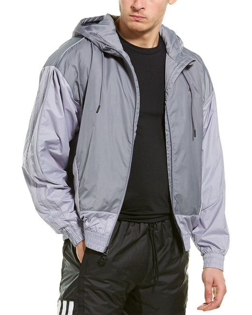 Adidas Gray Next Level Show Time Jacket for men