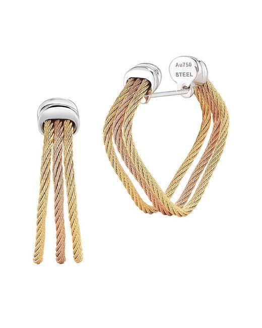 Alor - Metallic Classique 18k Drop Earrings - Lyst