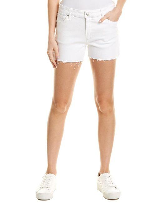 Joe's Jeans White Lover Berkley Baggy Short