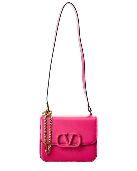Valentino Garavani Multicolor Vsling Small Leather Shoulder Bag