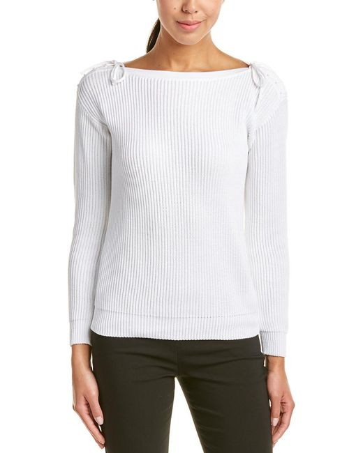 Max Mara - White Top - Lyst