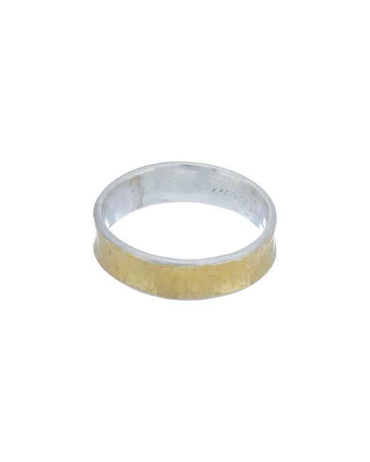 Gurhan Metallic Hourglass 24k Yellow Gold Over Silver Ring
