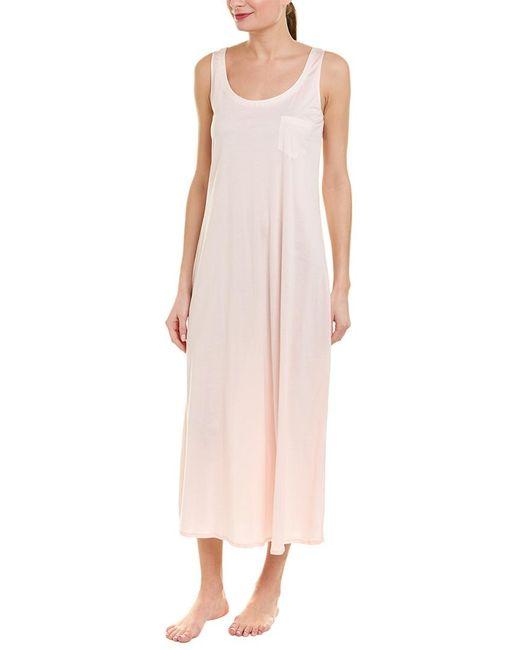 Hanro Pink Tank Nightgown