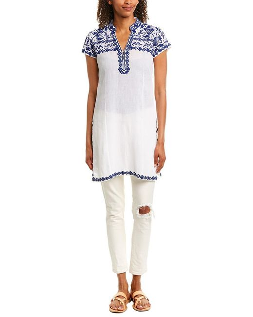 Sulu Collection White Tunic