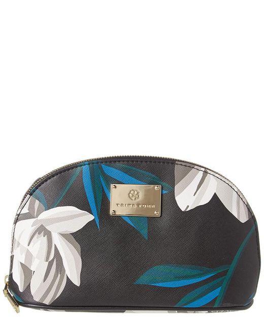 Trina Turk Black Dome Cosmetic Case