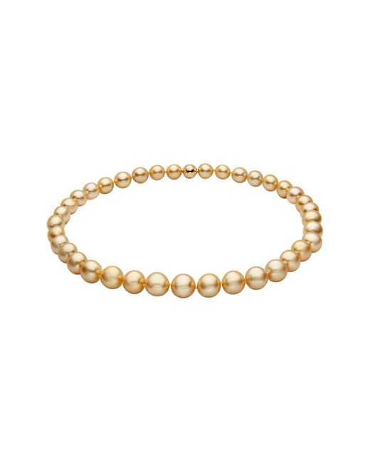 Tara Pearls - Metallic 18k 10-11mm South Sea Pearl Strand Necklace - Lyst