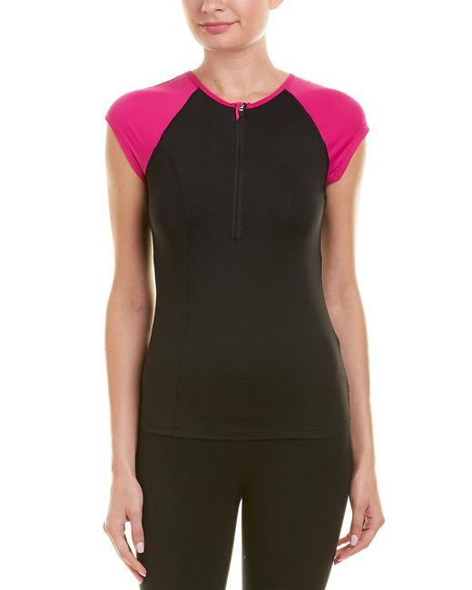 Spanx - Pink ® 1/2-zip Top - Lyst
