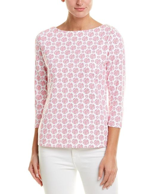 J.McLaughlin Pink Catalina Cloth Top