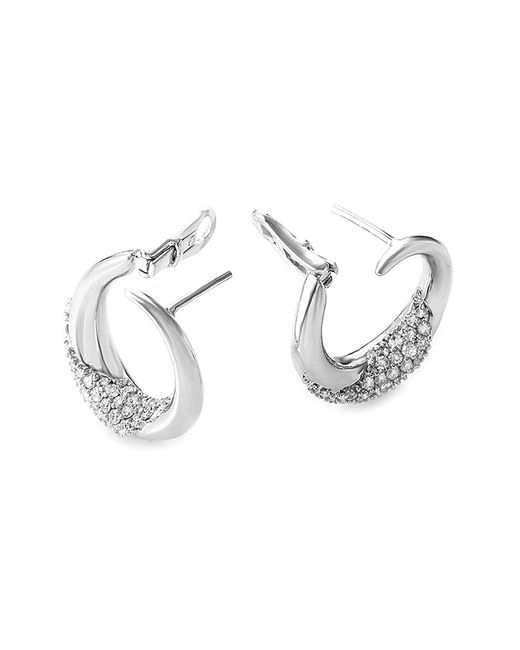 Damiani Metallic 18k 0.84 Ct. Tw. Diamond Earrings