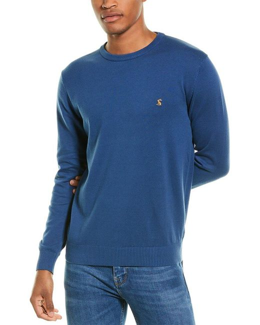 Joules Blue Jarvis Crewneck Sweater for men