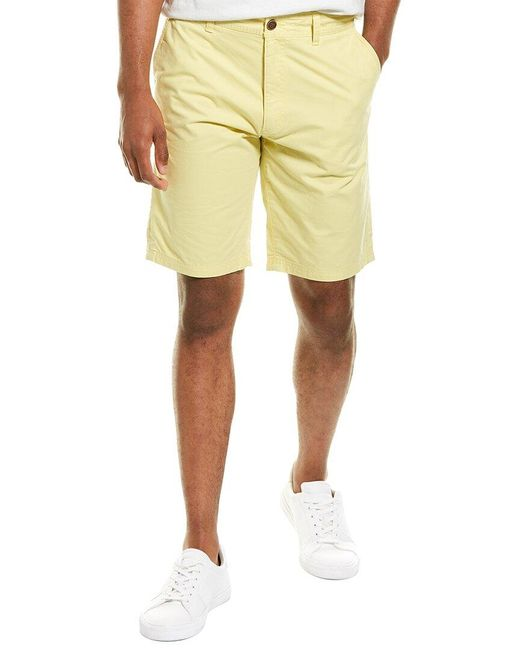 Joules Yellow Chino Short for men