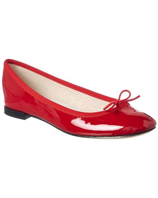 Repetto - Red Cendrillon Patent Ballerina Flat - Lyst
