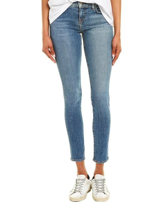Baldwin Denim Blue Jeans Sophia Mineral Skinny Leg