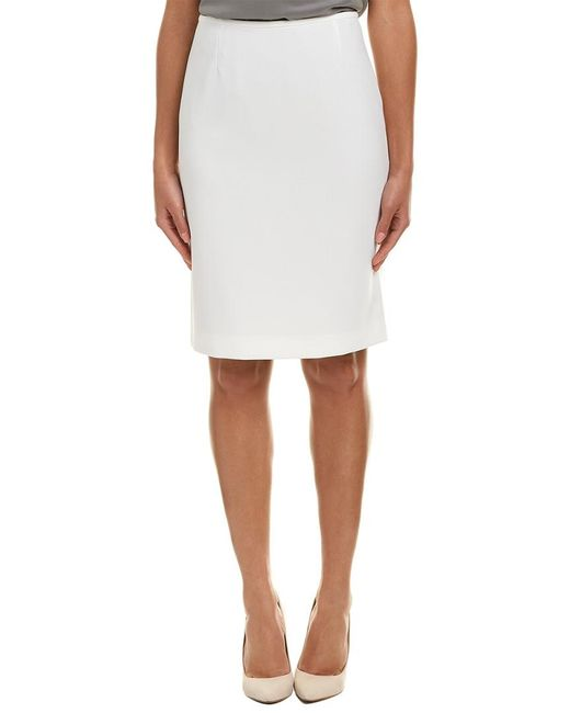 Tahari - White Tahari Asl Pencil Skirt - Lyst