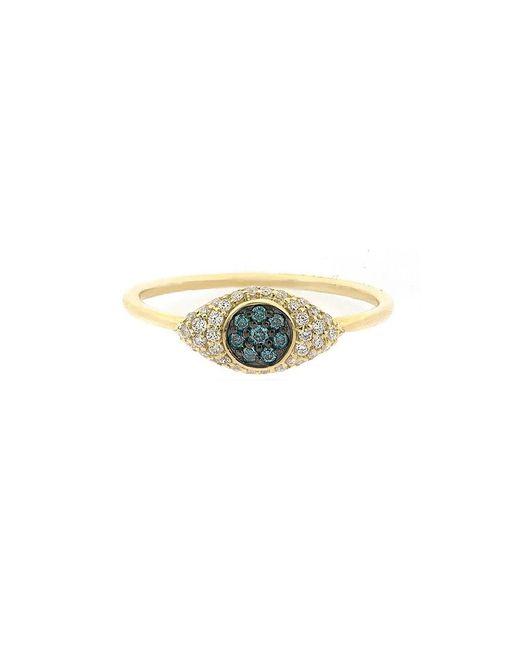 Adornia - Metallic Fine 14k 0.21 Ct. Tw. Diamond Ring - Lyst
