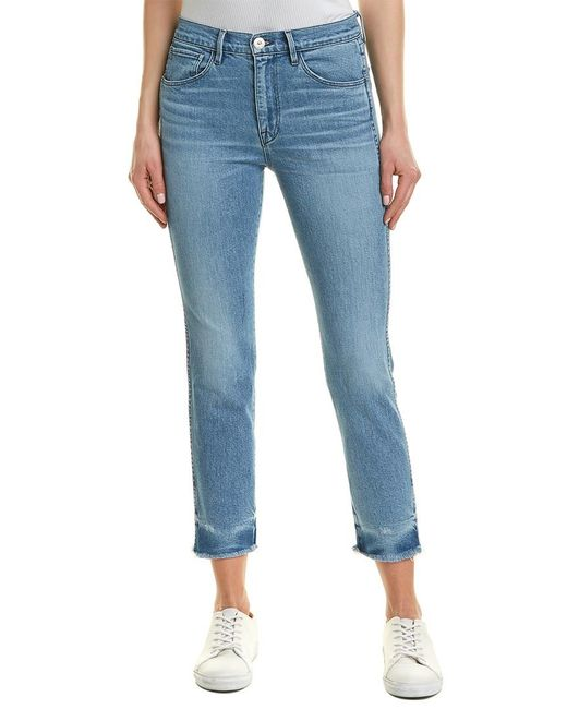 3x1 Blue W3 Mury Straight Authentic Crop