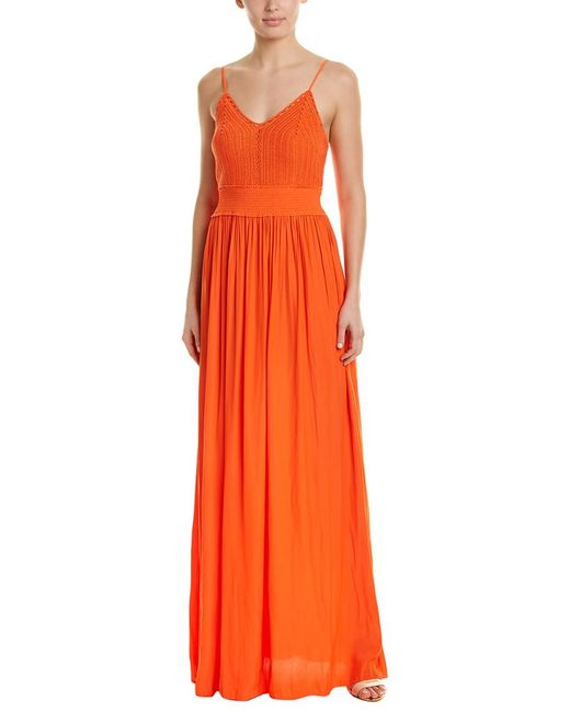 Ramy Brook - Orange Stella Maxi Dress - Lyst
