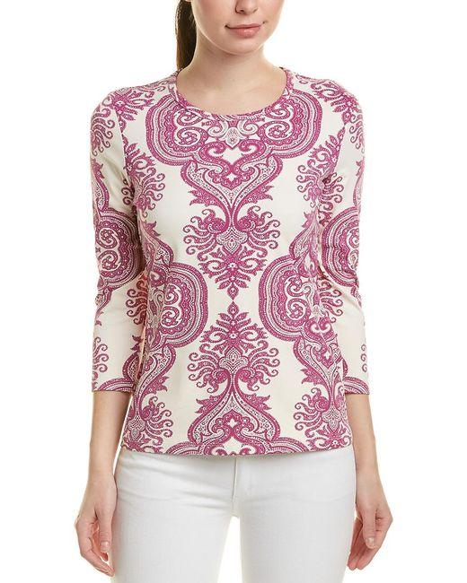 J.McLaughlin White Catalina Cloth Top