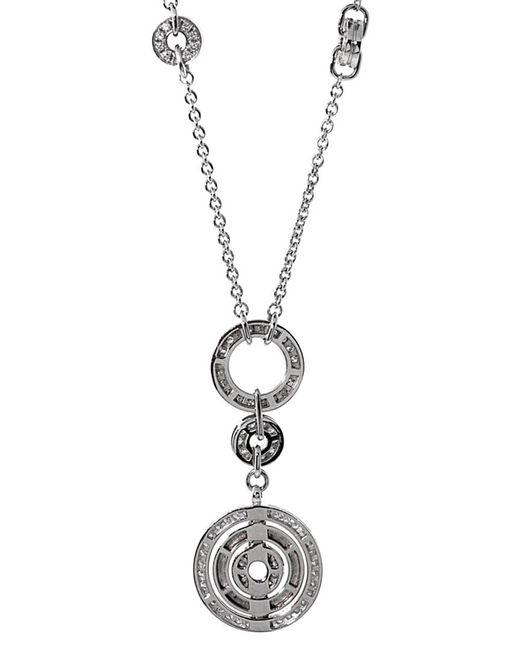 BVLGARI Metallic Bulgari 18k 10.15 Ct. Tw. Diamond Necklace