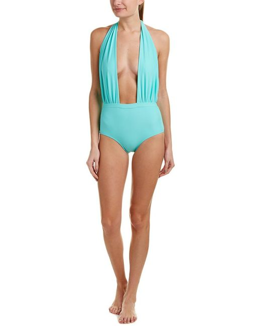 6 Shore Road By Pooja - Green Cabana One-piece - Lyst