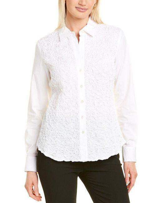 Go> By Go Silk White Go>silk Shirt