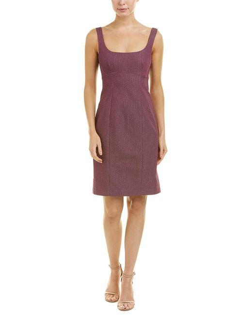 Nanette Lepore - Purple Sheath Dress - Lyst
