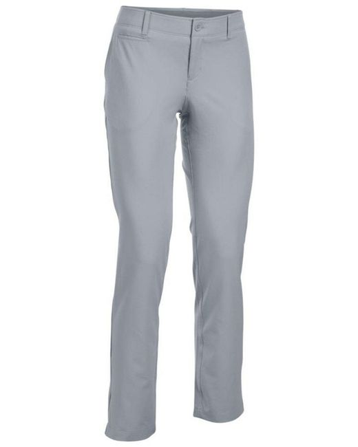 Under Armour - Gray Women's Links Pants - Lyst