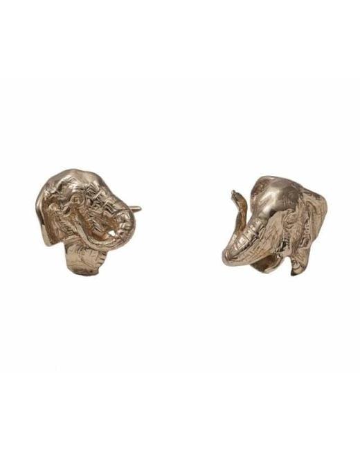 Bernard Delettrez - Metallic Bronze Elephant Ring - Lyst