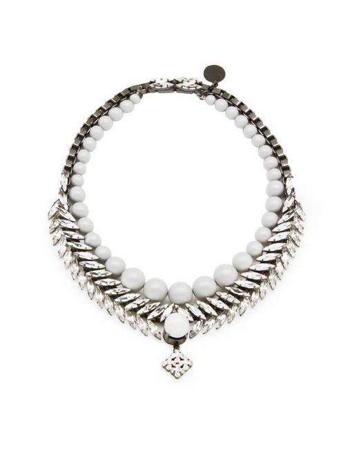 Ellen Conde | Metallic Bettie Classic Necklace | Lyst