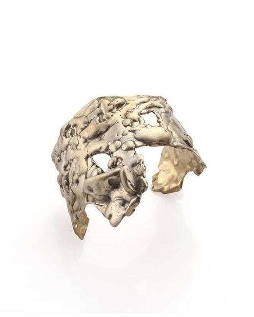 Noritamy - Metallic Orosi Tarnished Brass Cuff Bracelet - Lyst