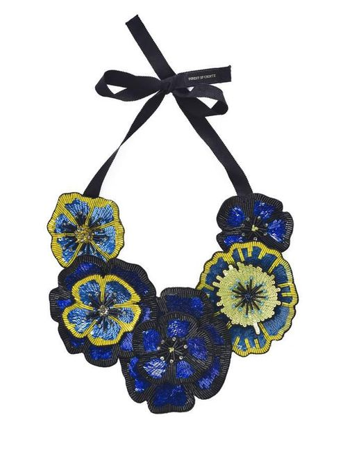 Forest Of Chintz | Blue Full Bloom Necklace | Lyst