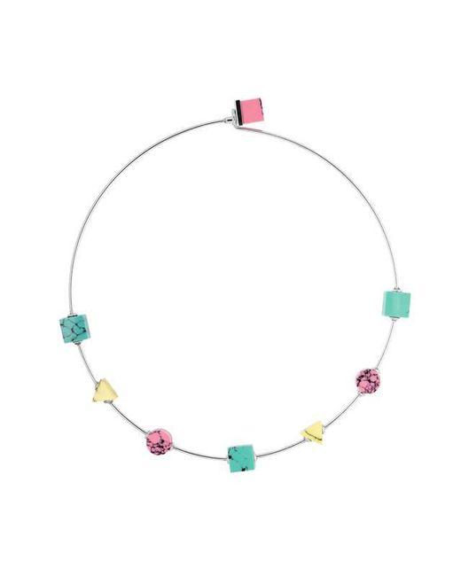 Eshvi   Multicolor Back To School Marble Thin Choker Necklace   Lyst