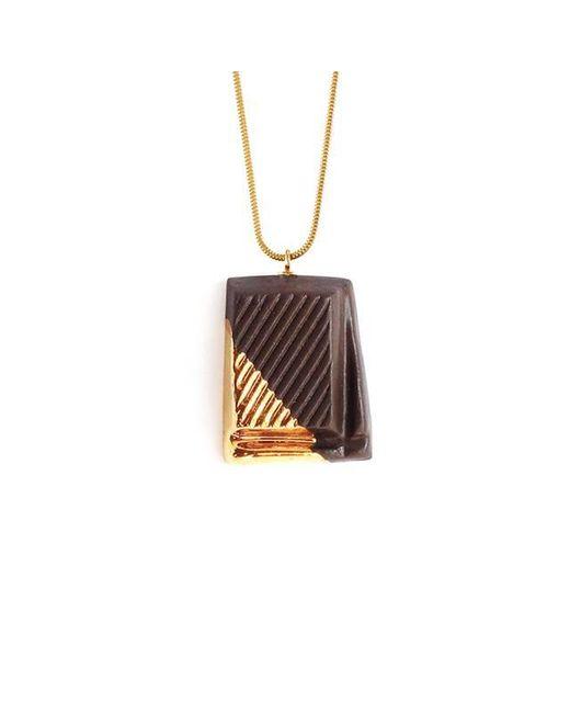 Tadam! Design | Metallic Dark Chocolate With Gold Glaze | Lyst