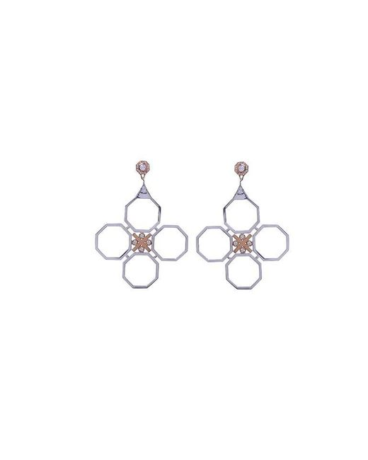 Madstone | Metallic Large M8 Post Earrings | Lyst