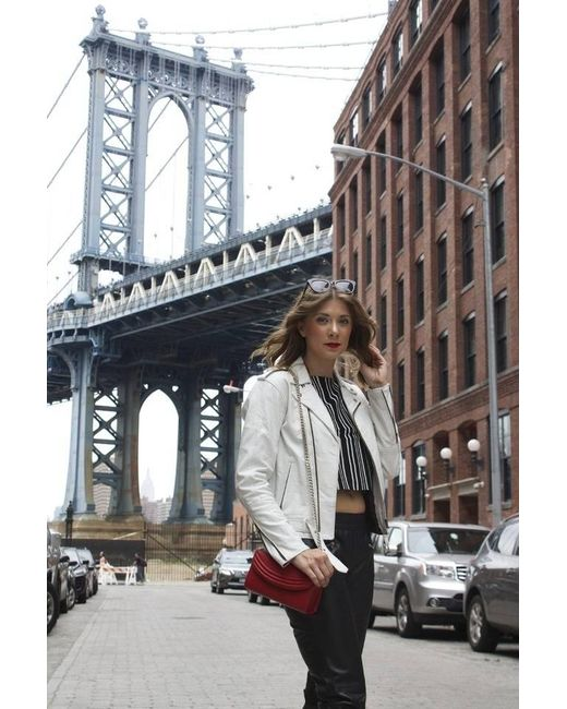 Lauren Cecchi New York Sorella Lipstick Red Mini Cross