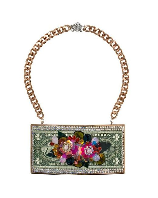 Bijoux De Famille | Pink Exotic Flower Power Necklace | Lyst