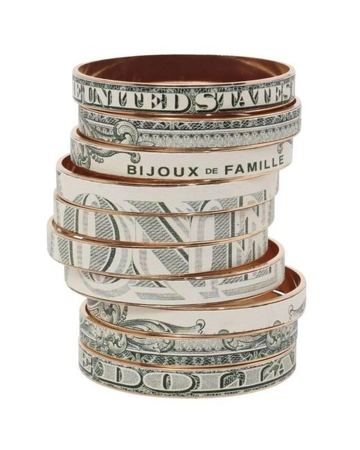 Bijoux De Famille | Multicolor Dollar Bangles | Lyst