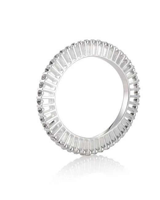 Yael Salomon | Metallic Ella 10 Silver And Crystal Bangle | Lyst