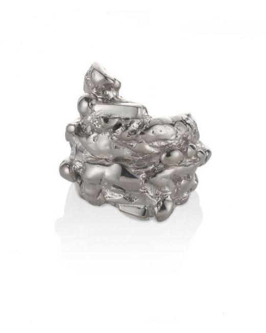 Noritamy | Metallic Fogo Silver Ring | Lyst
