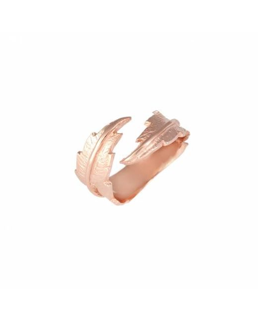 Leivan Kash   Multicolor Feather Open Ring   Lyst