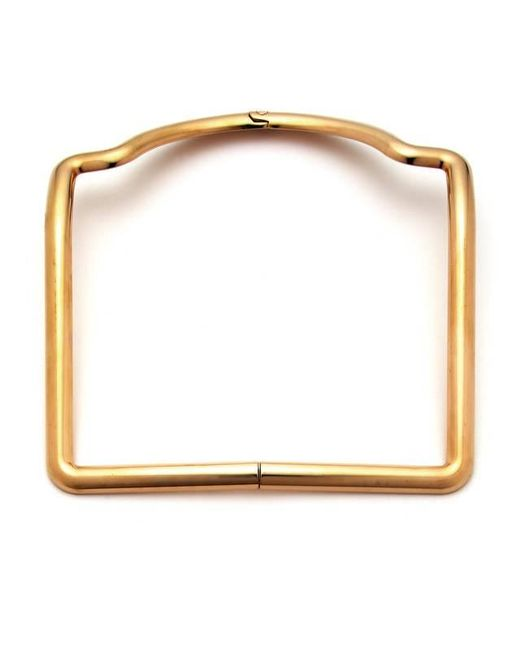 Caterina Zangrando | Metallic Sara Gold Plated Necklace | Lyst