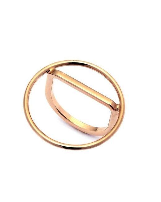 Caterina Zangrando   Metallic Fili Gold Plated Ring   Lyst