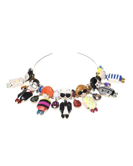 Bijoux De Famille | Multicolor Dress Me Choker Necklace | Lyst