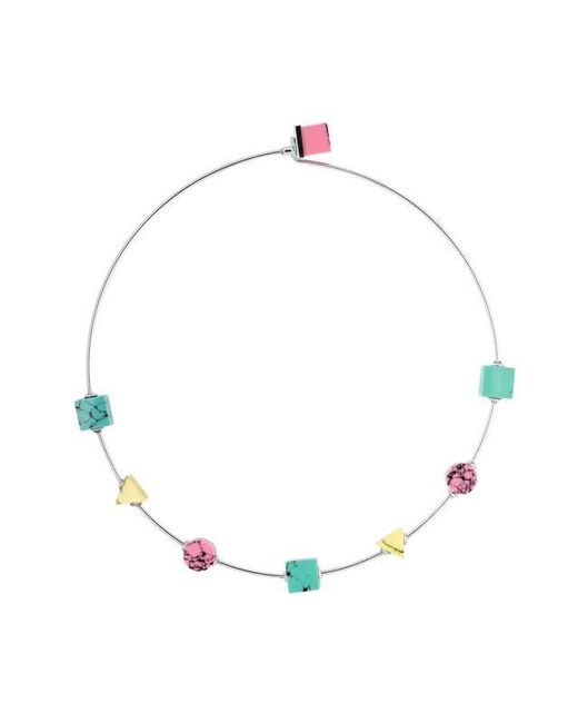 Eshvi | Multicolor Back To School Marble Thin Choker Necklace | Lyst