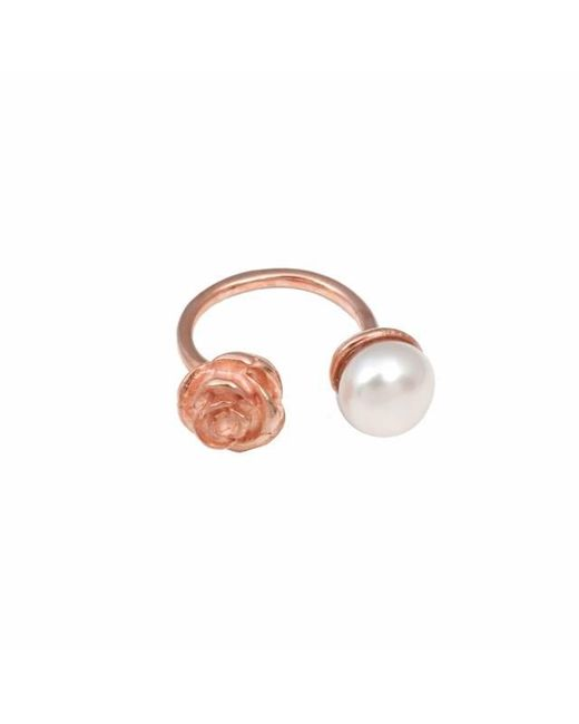 Leivan Kash - Multicolor Rose White Pearl Ring - Lyst